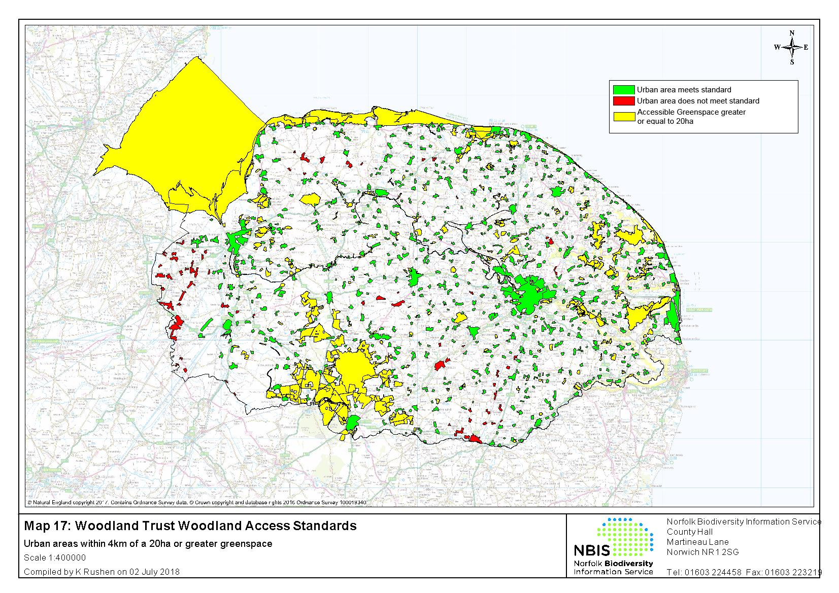 County Map Of England 2016.Publications Norfolk Biodiversity Partnership